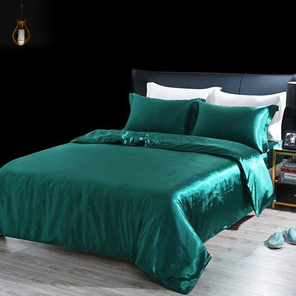 hodvabne obliecky na postel